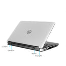 "Refurbished Dell Latitude E6540 15.6"" i7-4600M 8GB RAM 512GB SSD Wins 10 Pro"