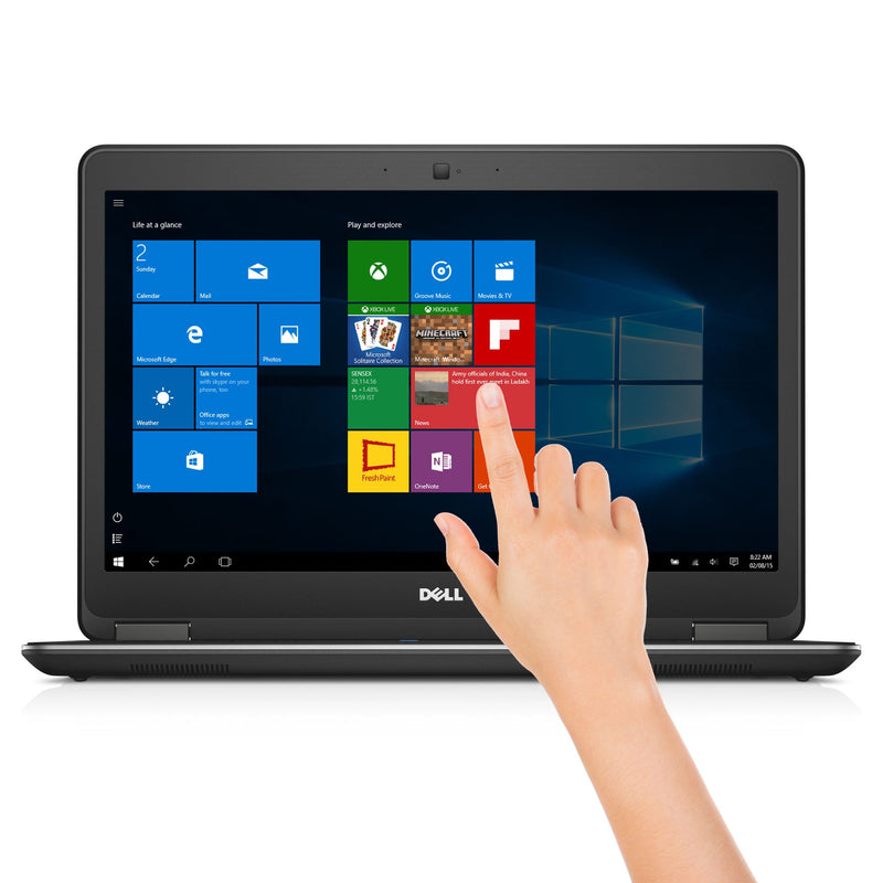 dell latitude e7450 touchscreen front