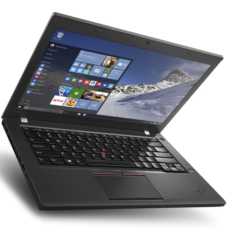 Lenovo Thinkpad T460 14-Inch Laptop ( Intel Core i5-6300U Dual-Core 2.4GHz) Solid State Drive Wins 10 Pro Refurbished