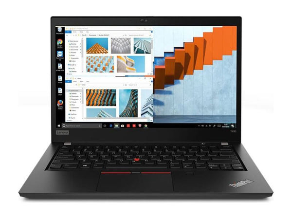 "Lenovo ThinkPad T490 20N20032US 14"" Notebook - 1920 X 1080 - Core i5 I5-8265U - 8 GB RAM - 256 GB SSD - Glossy Black - Windows 10 Pro 64-bit - Intel UHD Graphics 620 - in-Plane Switching (IPS) Technology - English (US) Keyboard-20N20032US"