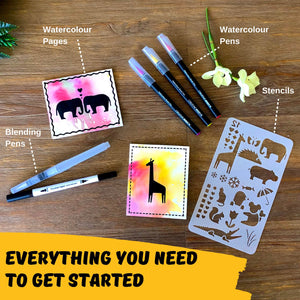 Watercolour Brush Pens & Accessories - Creative Husky