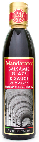 Mandarano Balsamic Glaze & Sauce of Modena – Aged 5+ Years