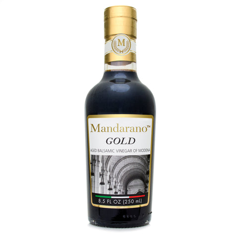 Mandarano Gold Premium Balsamic Vinegar of Modena – Aged 10+ Years