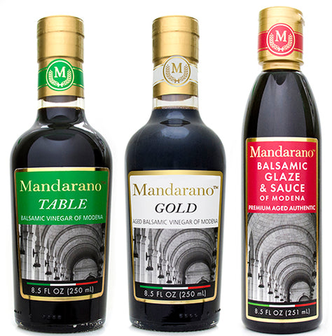 Mandarano Balsamic Vinegar of Modena Gift Pack