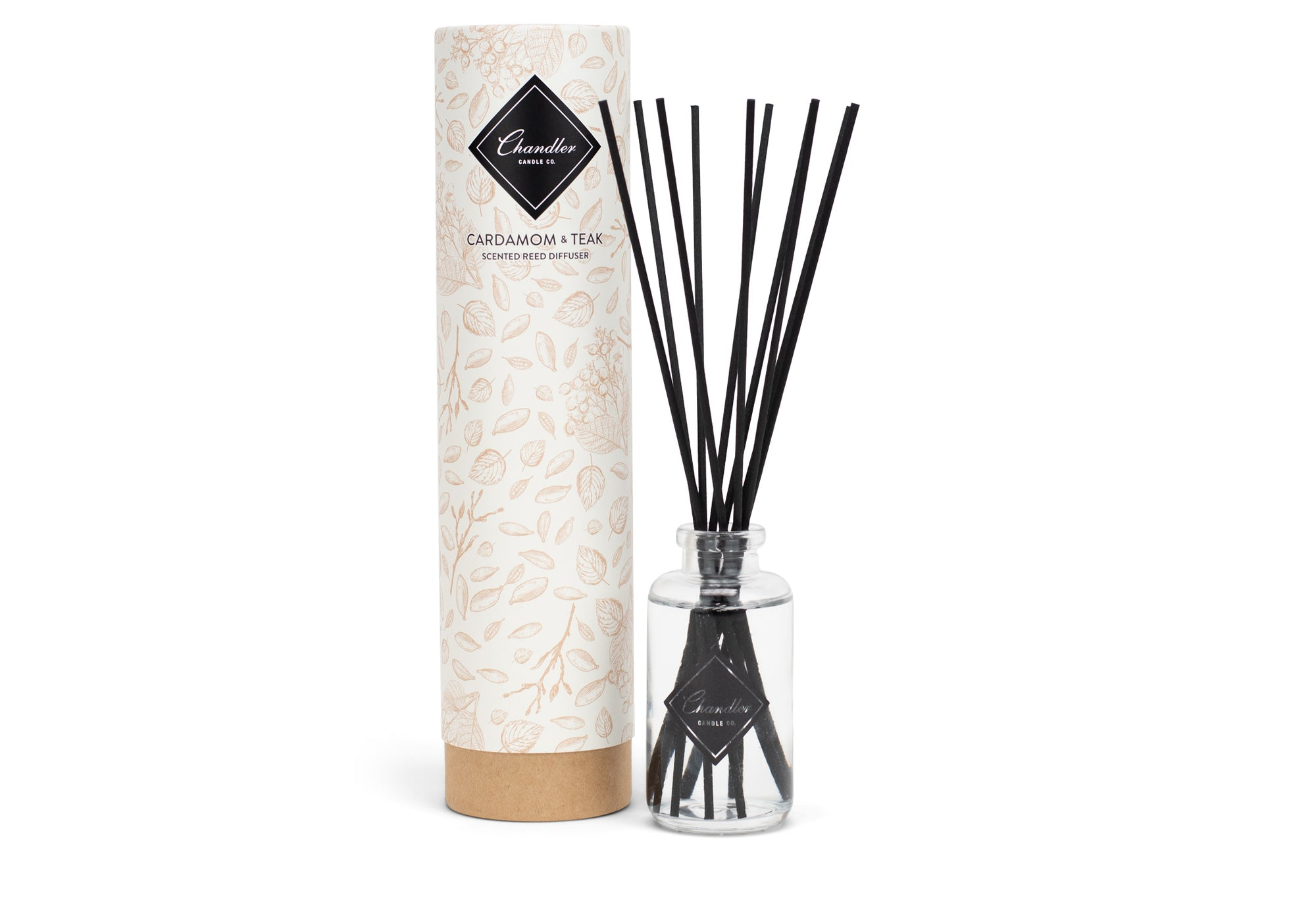 Cardamom and Teak Scented Reed Diffuser