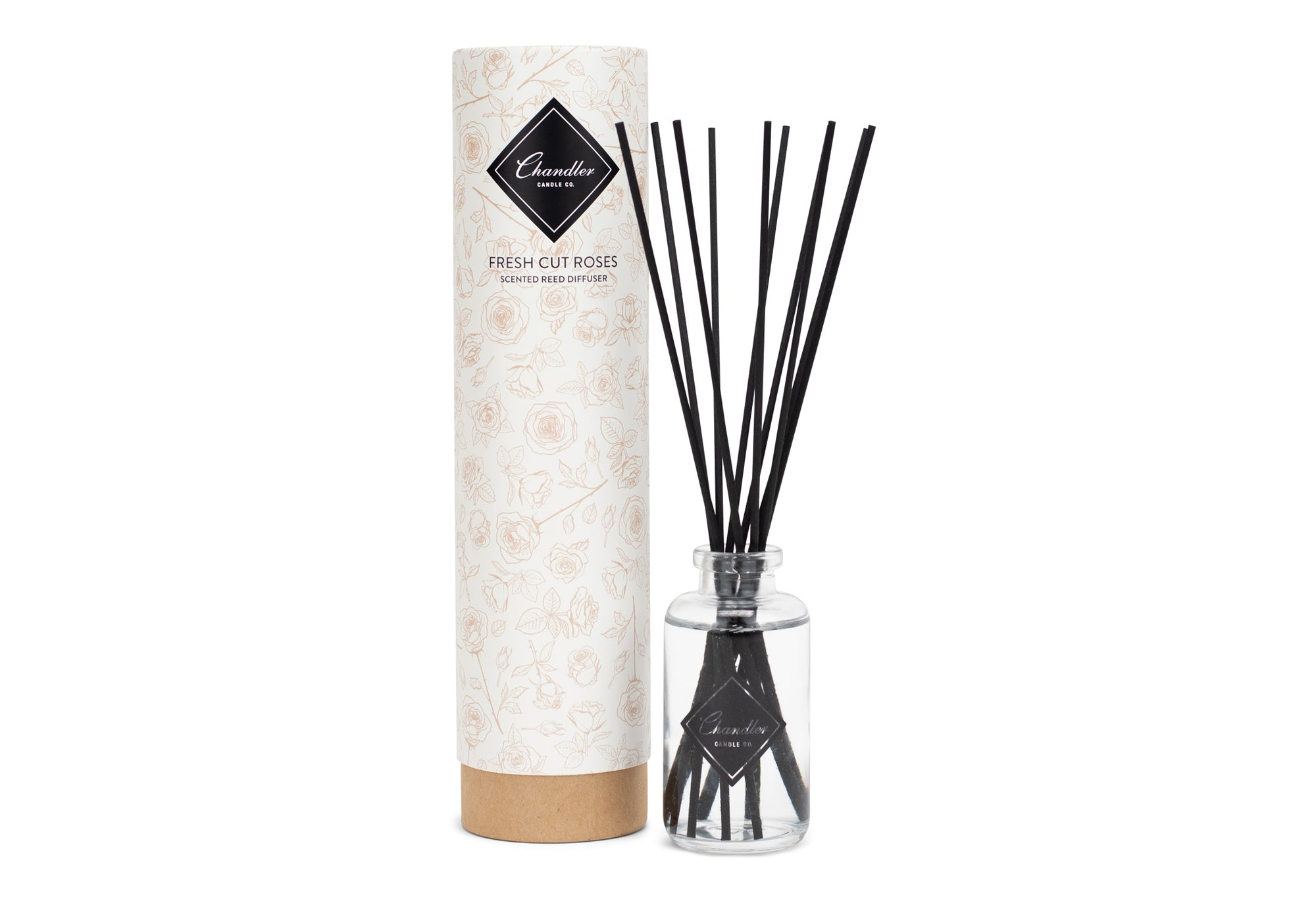 Fresh Cut Roses Scented Reed Diffuser
