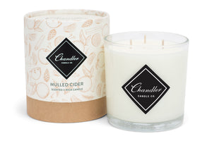 Large 3-Wick Mulled Cider Scented Candle