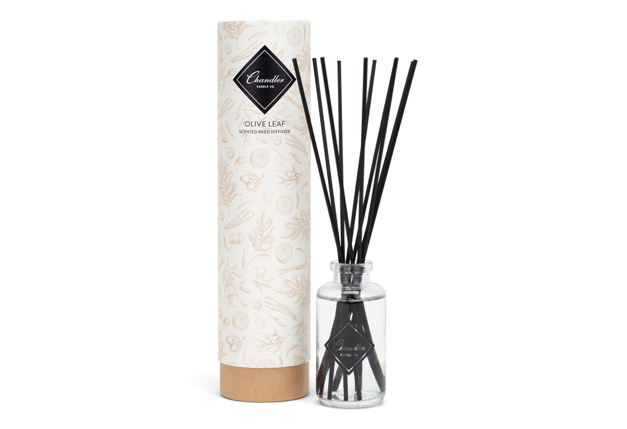 Olive Leaf Scented Reed Diffuser