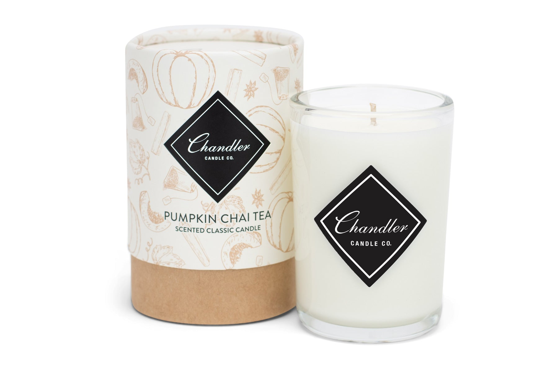 Pumpkin Spiced Chai Tea Candle
