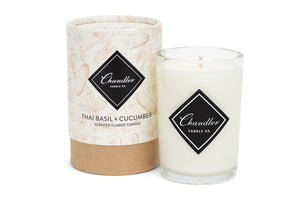 Thai Basil Cucumber Scented Candle