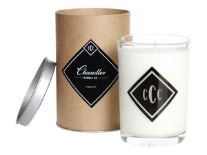Tobacco and Amber Scented Candle in Tube