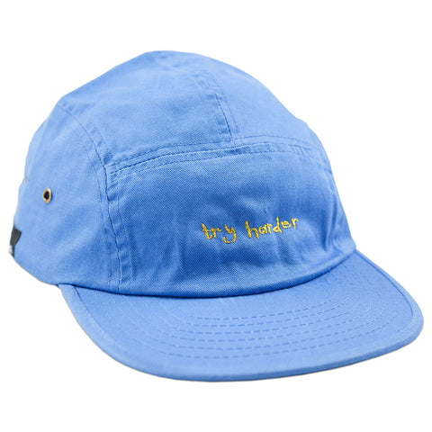 Try Harder 5 Panel (Blue)