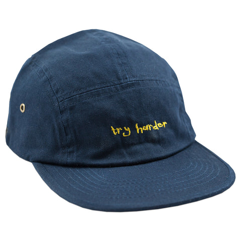 Try Harder 5 Panel (Navy)