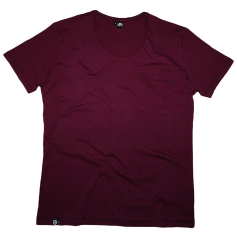 Organic Pocket (Burgundy)
