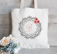 Bridesmaid Gift Tote, Wedding Welcome Tote, Custom Wedding Bag,  Bridesmaid Bag, Wedding party favor, Gifts for bridemaids