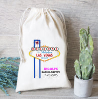 Hangover Kit Bag, Bachelorette Party,  Hangover Kit, Drawstring Favor Bags, Personalized gift bag, Las Vegas