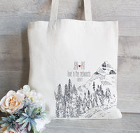 Wedding in Forest Favors, Set of 50 Tote Bags, Redwood Wedding Favors, Forest Bridal Party, Bridesmaid, Mother of the Bride