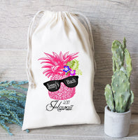 Where My Beaches At, Party favor bag, Bachelorette Favor Bag- Wedding Welcome Favor Bag