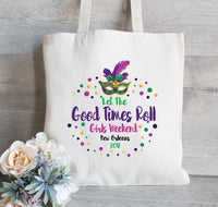 Mardi Gras Bachelorette Party, New Orleans Bachelorette , Bachelorette Gift Bag, Girls Night Out,  Bridal Party Gift Bag