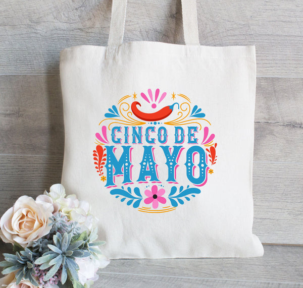 Cinco De Mayo tote bag, Mexico Bachelorette Tote Bag, Bachelorette Party Gift, Favors for Bachelorette, Canvas Tote Bag, Beach Tote
