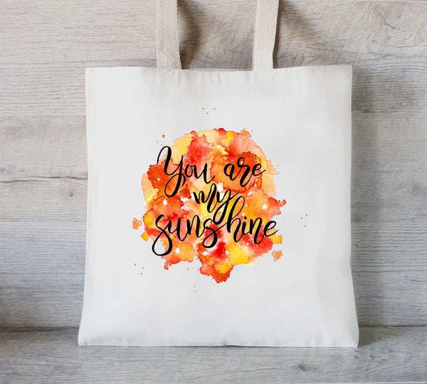 You Are My Sunshine Tote Bag, Mom Tote Bag, Personalized Tote, Grocery Bag, Best Life, Mothers Day Gift Bag