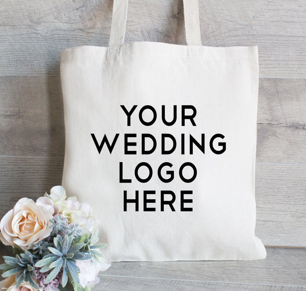 Promotional tote bag, Wedding Logo, Custom Tote Bag, Promotional Tote, Shopping bags with your logo, Trade Show Gift Bag