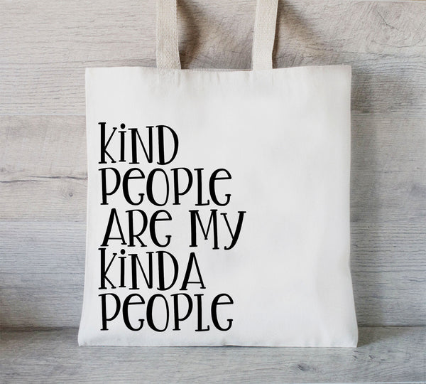 Kind People tote bag, Custom Tote Bag, Promotional Tote, Shopping bags with your logo, Trade Show Gift Bag