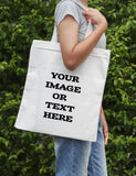 Custom Tote Bag - Your Image or Text