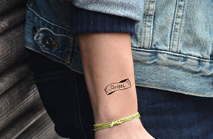 Temporary Tattoo - Strizzi