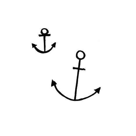 Temporary Tattoo - Anchor