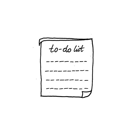 Temporary Tattoo - To-do List