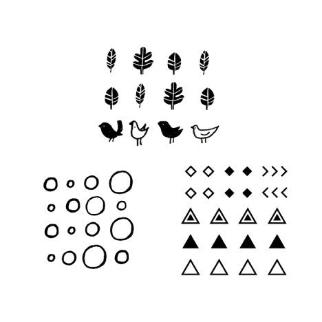 Temporary Tattoo - Set Micro