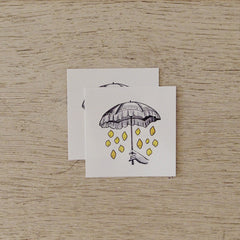 Temporary Tattoo - It's Raining Lemons
