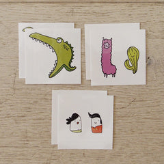 Temporary Tattoo - Set Playful