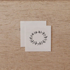 Temporary Tattoo - Wreath