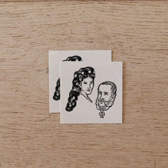 Temporary Tattoo - Sissi & Franz