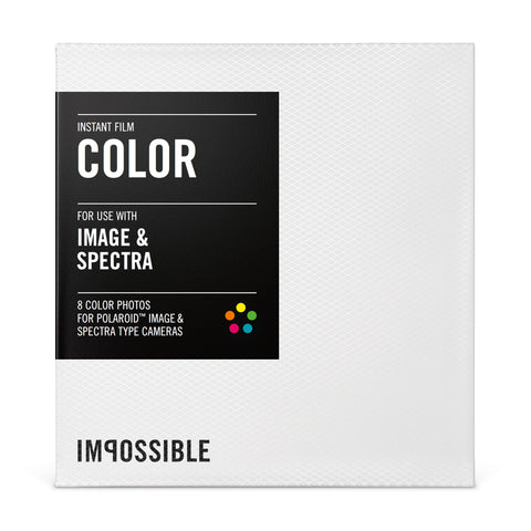 IMPOSSIBLE Instant Film IMAGE & SPECTRA