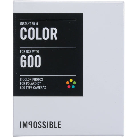 IMPOSSIBLE Instant Film 600. COLOR