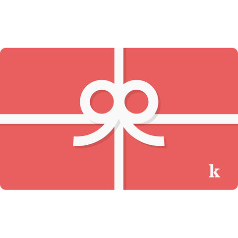 Kingsize Gift Card
