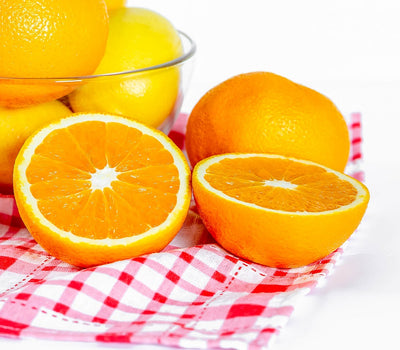vitamin c from oranges