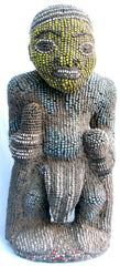 Bamileke Beaded Ancestor Figure