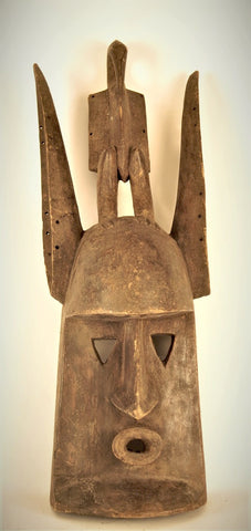Dogon Mask with Horn-bill on Top