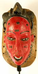 Baule Red Kpan Mask