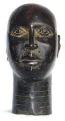 Ife Bronze Male Head