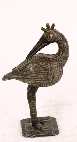 Bronze Bird from Burkina Fasso