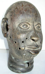 Ife Bronze Head of King