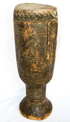 Kuba Ceremonial Drum