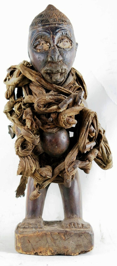 Kongo Nail Fetish Figure | ArtTribal.com