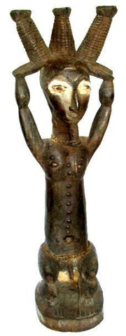 Akye Ceremonial Male Figure