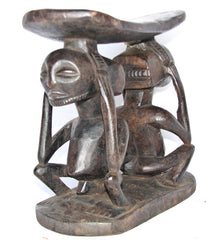Luba Headrest with Two Figures